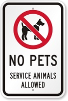 No-Pets-Service-Animals-Sign-2013